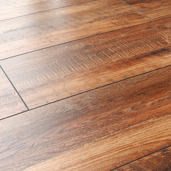 8 x 48 x 12mm Pine Laminate Flooring in Red Oak by Kronoswiss