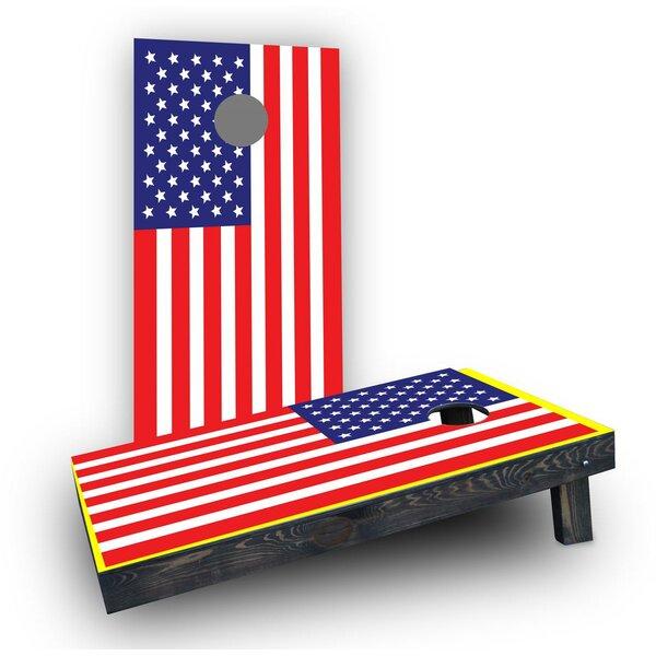 American Flag Cornhole (Set of 2) by Custom Cornhole Boards