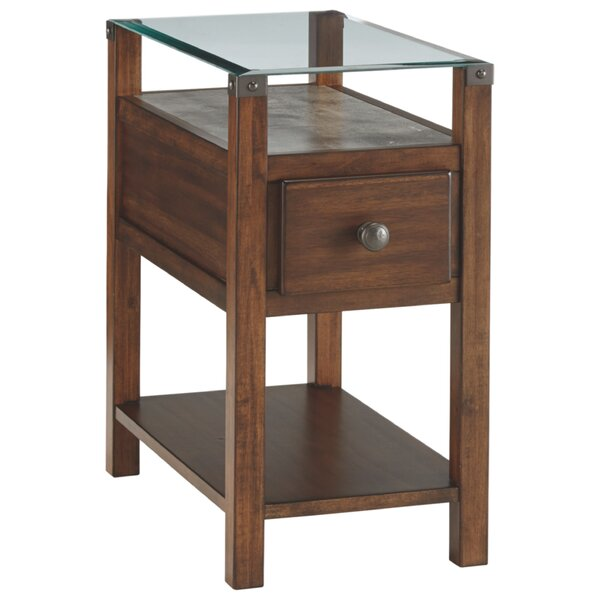 Colewood End Table With Storage By Winston Porter