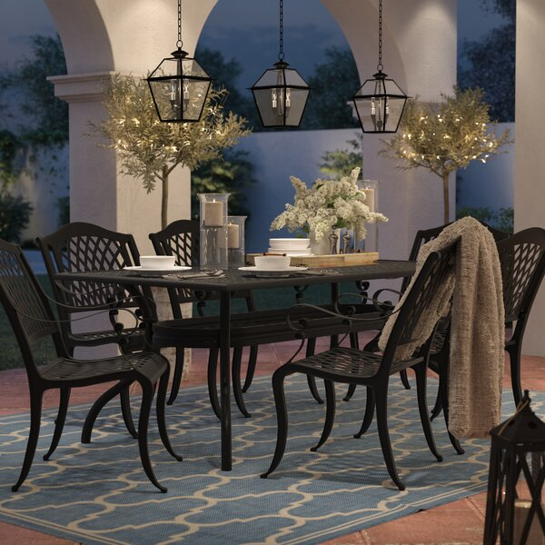 Bayview 7 Piece Dining Set By Sol 72 Outdoor by Sol 72 Outdoor Best
