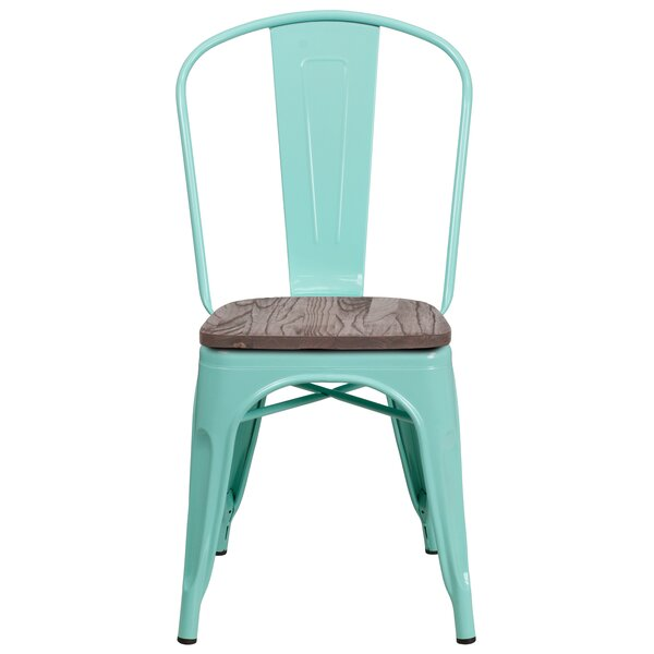 Kidder Stackable Dining Chair by Breakwater Bay