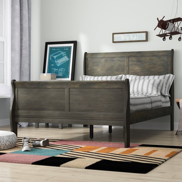 Sophia Sleigh Bed by Grovelane Teen