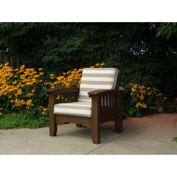 Calla Mission Chair with Cushion by Rosalind Wheeler Rosalind Wheeler