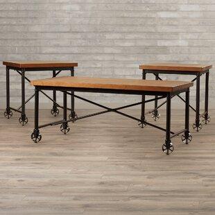 Beldibi 3 Piece Coffee Table Set by Trent Austin Design