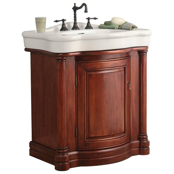32 Single Bathroom Vanity Set by Hazelwood Home