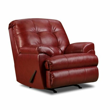 David Manual Rocker Recliner by Simmons Upholstery by Latitude Run