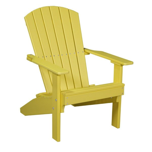 Kattamuri Lakeside Plastic Adirondack Chair by Ebern Designs Ebern Designs