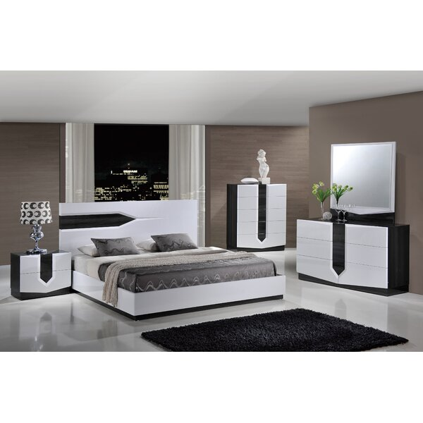 Hudson Panel Bed Configurable Bedroom Set by Global Furniture USA