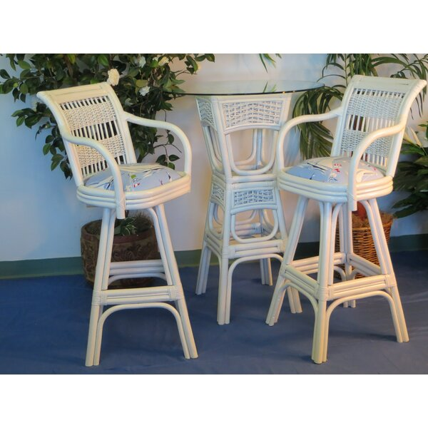Regatta 3 Piece Pub Table Set by Spice Islands Wicker