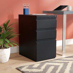 Holyoke 3-Drawer Mobile Pedestal by Latitude Run