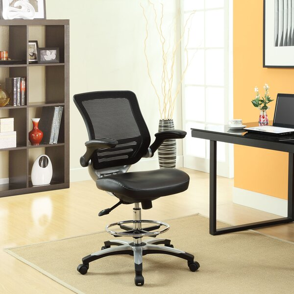 Bonnie Mesh Drafting Chair by Latitude Run