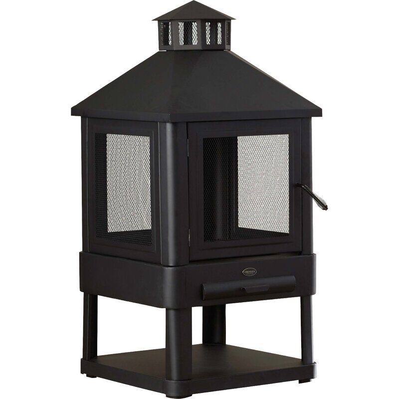 Casilla Steel Wood Burning Pagoda