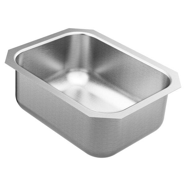 1800 Series 16 L x 20.5 W Undermount Single Bowl Stainless Steel Bar Sink