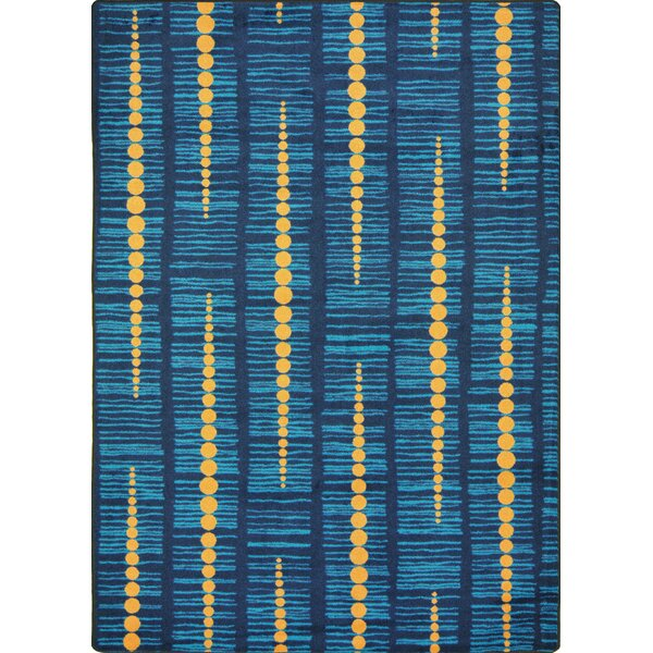 Hand-Tufled Blue Area Rug by The Conestoga Trading Co.