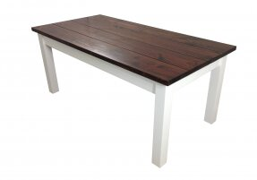 Solid Wood Dining Table by Ezekiel and Stearns Ezekiel and Stearns