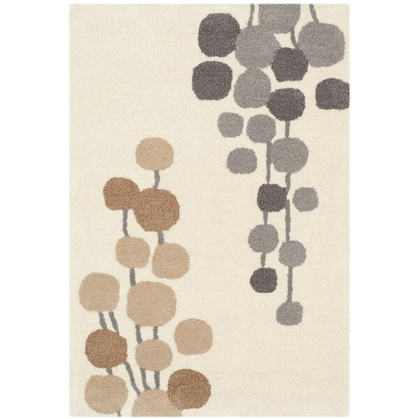 Bermondsey Hand-Tufted Beige / Gray Area Rug by Langley Street