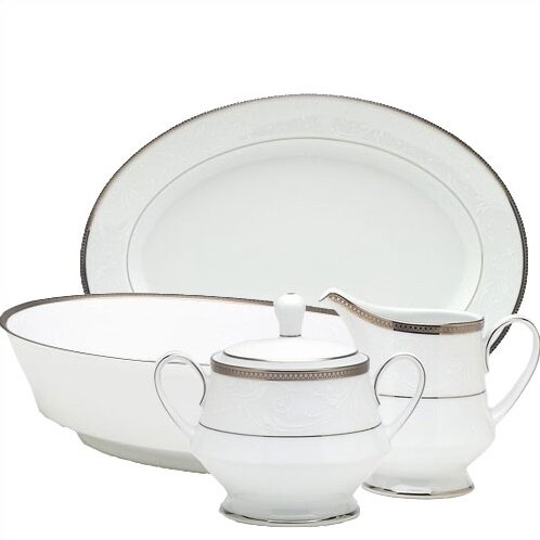 Regina Platinum 5 Piece Completer Set by Noritake