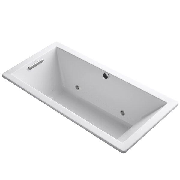 Underscore Bubblemassage 66 x 32 Whirpool Bathtub by Kohler