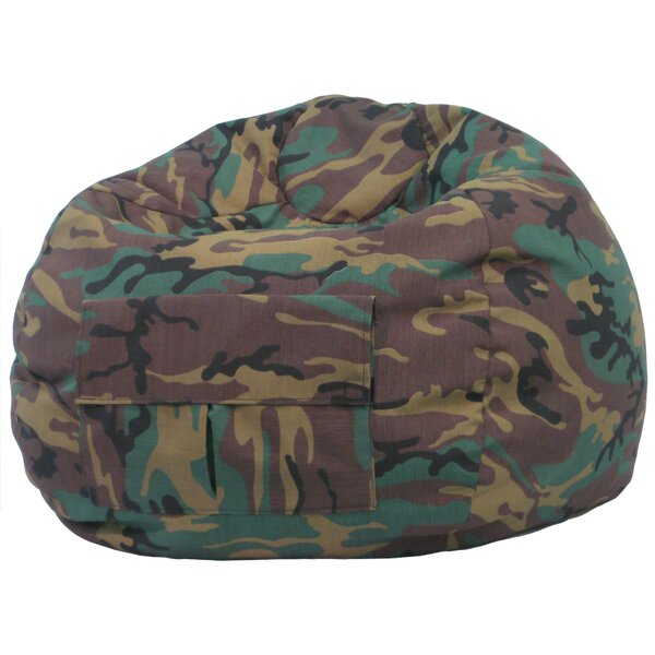 Camouflage Bean Bag Chair by Gold Medal Bean Bags