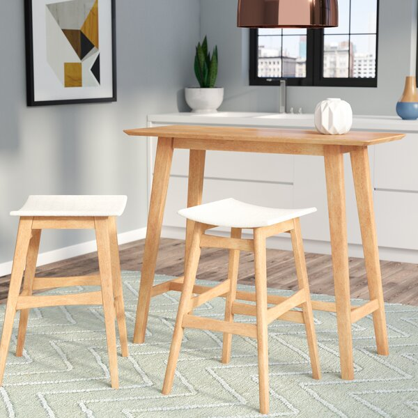 Fletcher 3 Piece Pub Table Set by Langley Street
