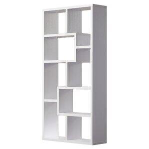 "Chrysanthos 71"" Accent Shelves Bookcase"