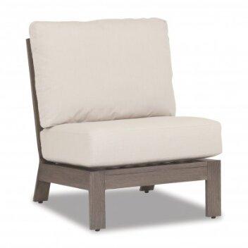 Laguna Armless Chair with Cushion by Sunset West