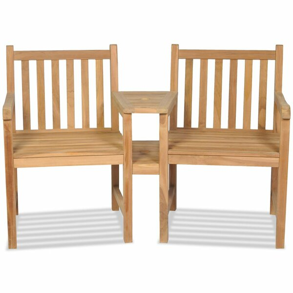 St Asaph Garden Chair with Parasol Hole (Set of 2) by Breakwater Bay