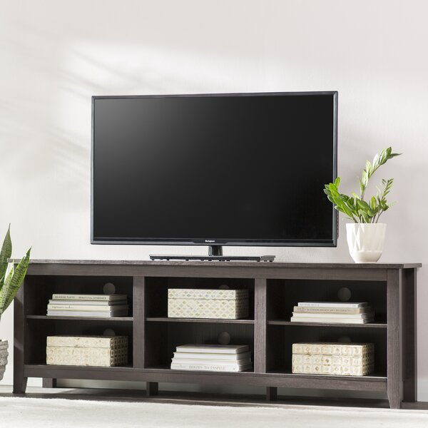 Sunbury 70 Tv Stand With Optional Fireplace By Beachcrest Home.
