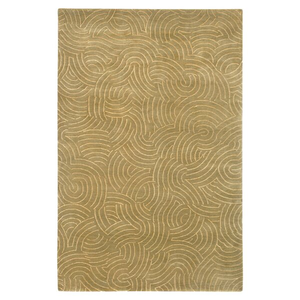 Dixon Brown/Tan Area Rug by Latitude Run