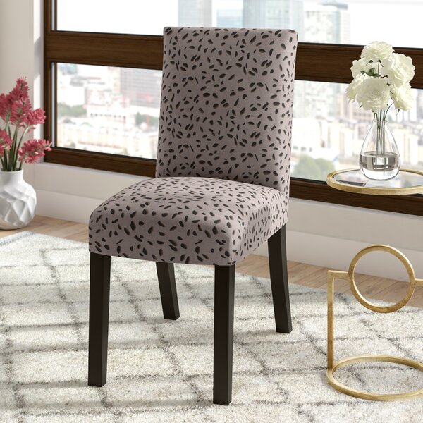 Bora Bora Upholstered Dining Chair in Gray by Ivy Bronx Ivy Bronx