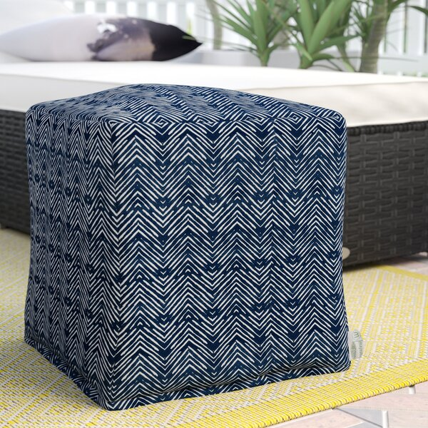 Glassell Small Ottoman By Wrought Studio by Wrought Studio No Copoun