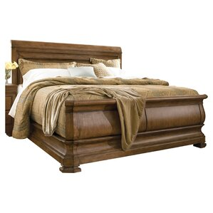 Mauritane Sleigh Configurable Bedroom Set by World Menagerie