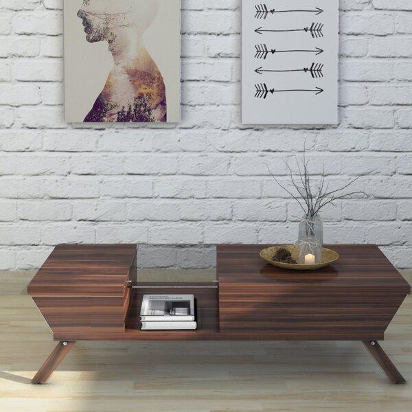 Soto Coffee Table With Storage By Mercury Row
