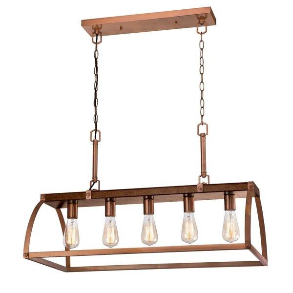 Milla 5 - Light Rectangle Chandelier by Gracie Oaks Gracie Oaks