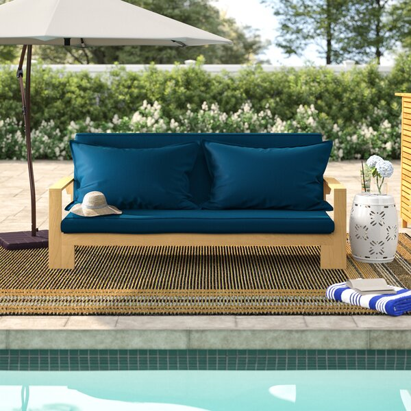 Lonon Loveseat with Cushion by Rosecliff Heights Rosecliff Heights