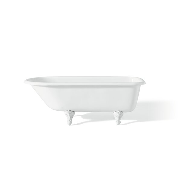 68 x 30 Soaking Bathtub with Continuous Rolled Rim by Cheviot Products