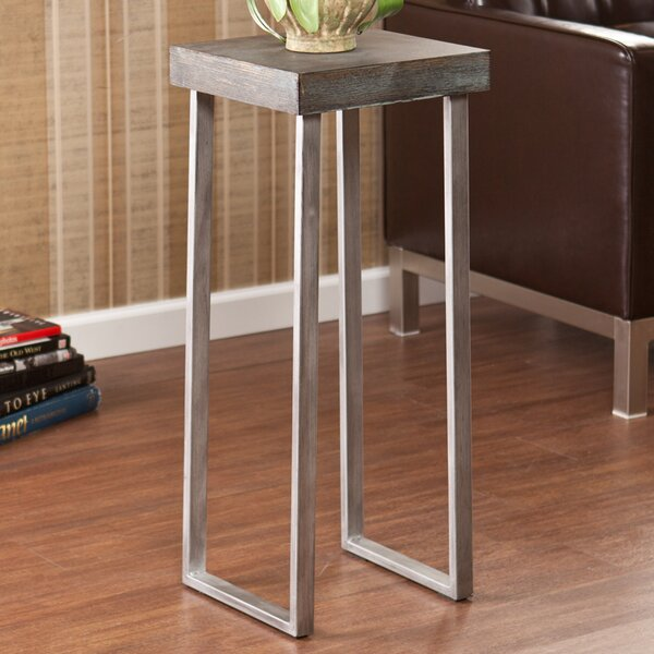 Newberry Pedestal End Table By Wildon Home®