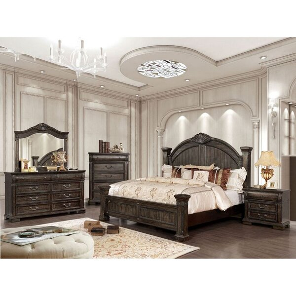 Swingle 5 Piece Bedroom Set (Set of 5) by Alcott Hill