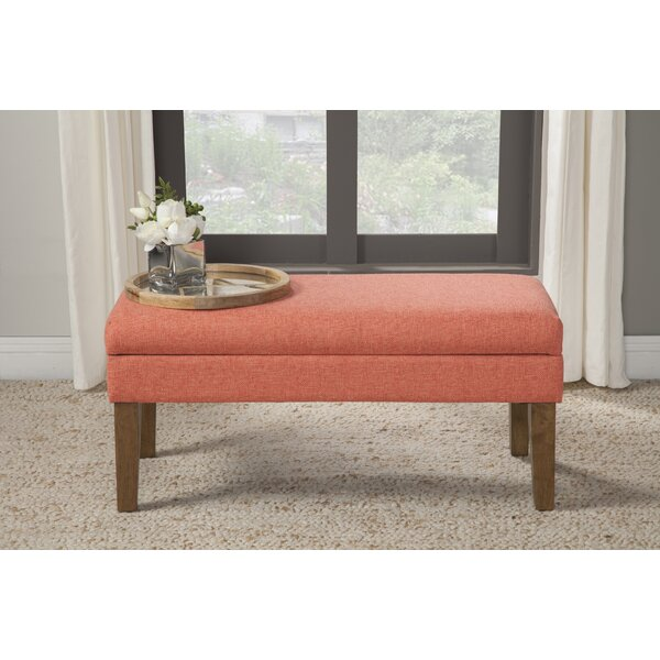 North Andover Decorative Storage Bench by Charlton