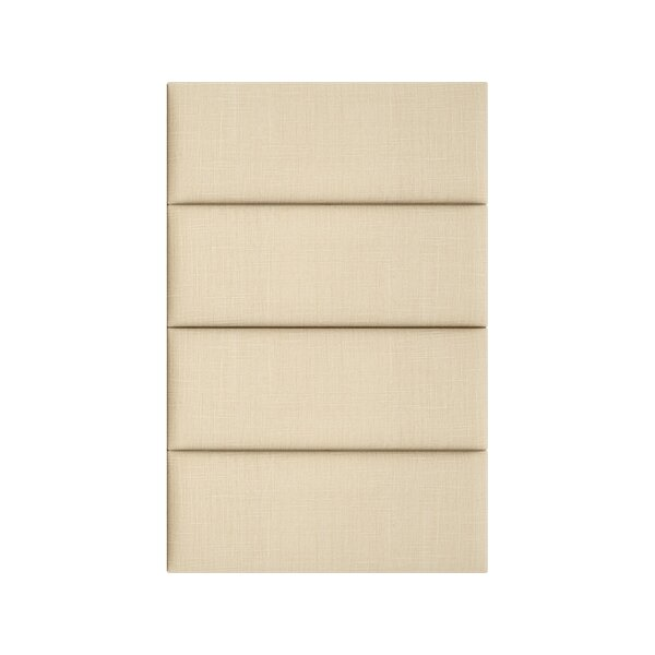 Cotton Weave Wall Paneling in Toasted Wheat by Vant Panels