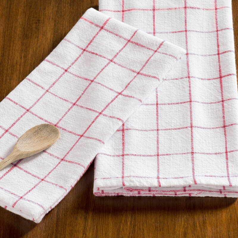 zinia grid kitchen hand towel - Kitchen Hand Towels