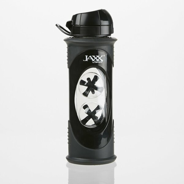 Jaxx Glass Shaker Bottle by Fit & Fresh