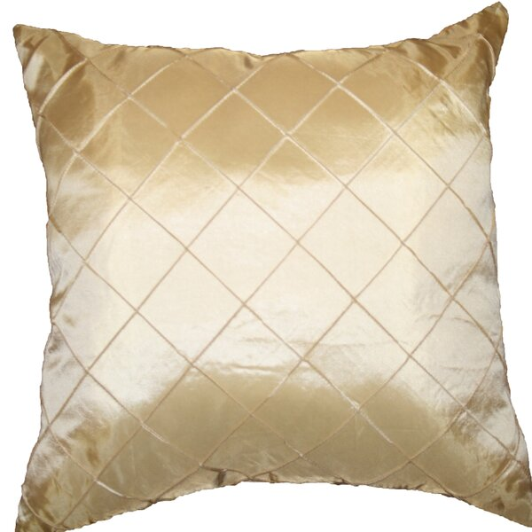 Silky Checks Decorative Pillow Cover by Violet Linen
