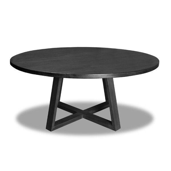 Masse Solid Wood Dining Table by Union Rustic