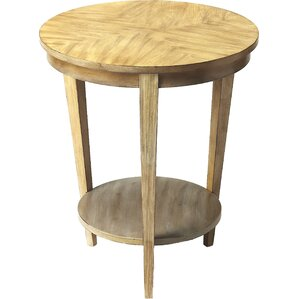 Nakety End Table by World Menagerie