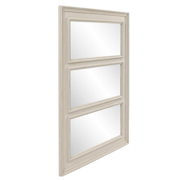 East Clevedon Triad Accent Mirror by Charlton Home
