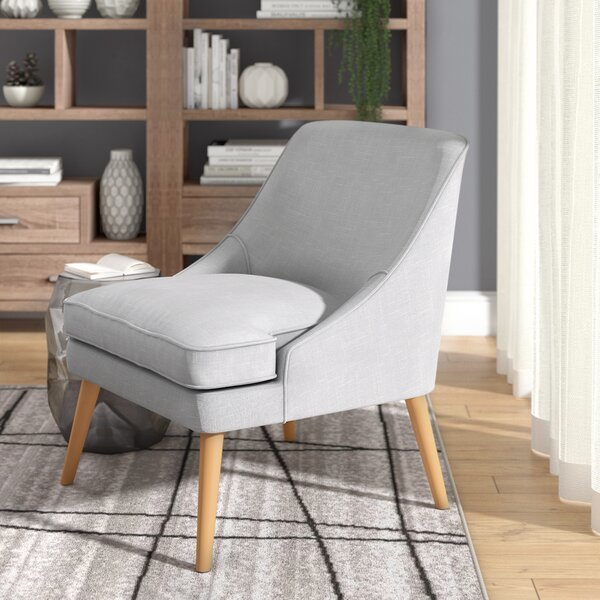Dunturky Upholstered Accent Slipper Chair by Langley Street