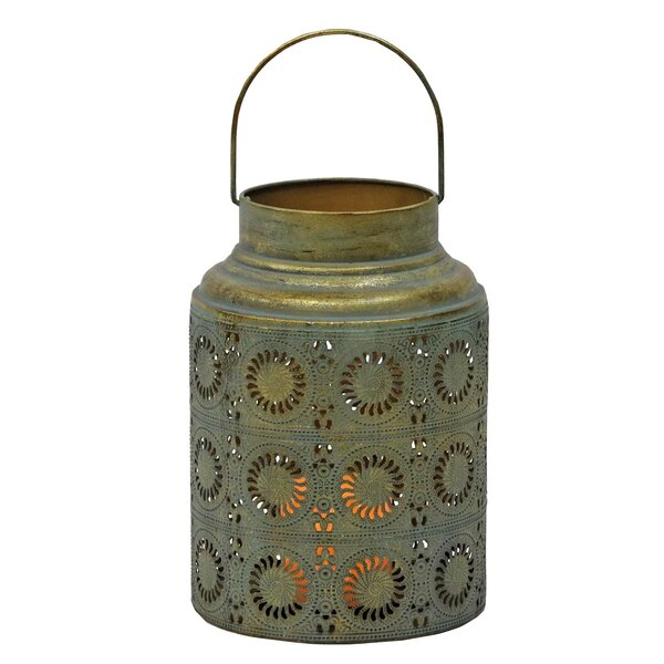 Scroll Work Metal Lantern by Foreside Home & Garden
