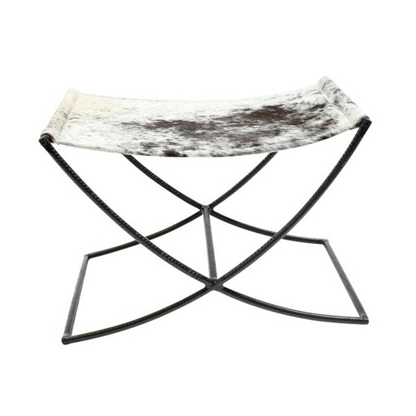 Hide Sled Stool by Fashion N You by Horizon Interseas