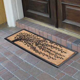 Berenice Falling Leaves Molded Double Doormat